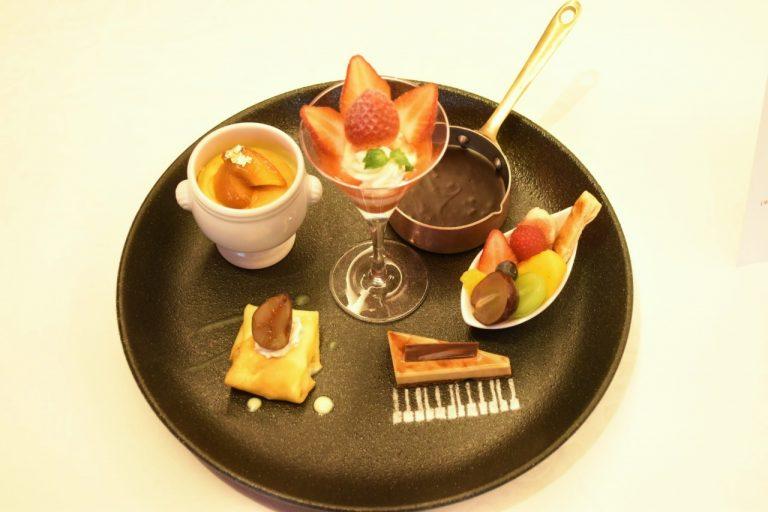 リニューアルオープン記念メニュー「サロン・ド・カフェ スペシャルプレート」は11月30日まで限定。