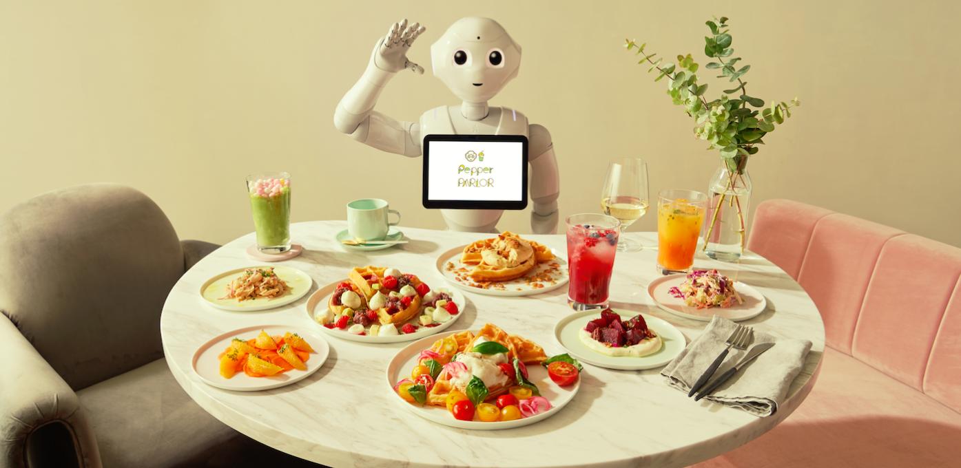 ペッパーがスタッフに!?未来型カフェ〈Pepper PARLOR〉が〈東急プラザ渋谷〉にオープン。