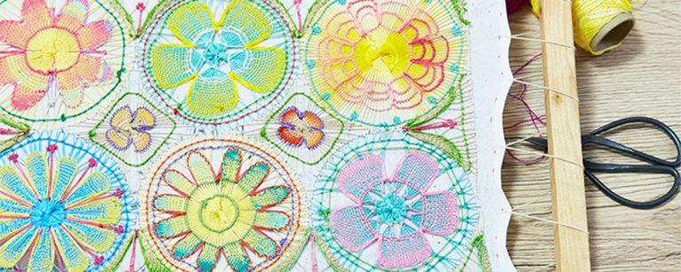 習い事にも旬がある!?南米生まれのカラフルレース編み〈ニャンドゥティ教室〉に挑戦。