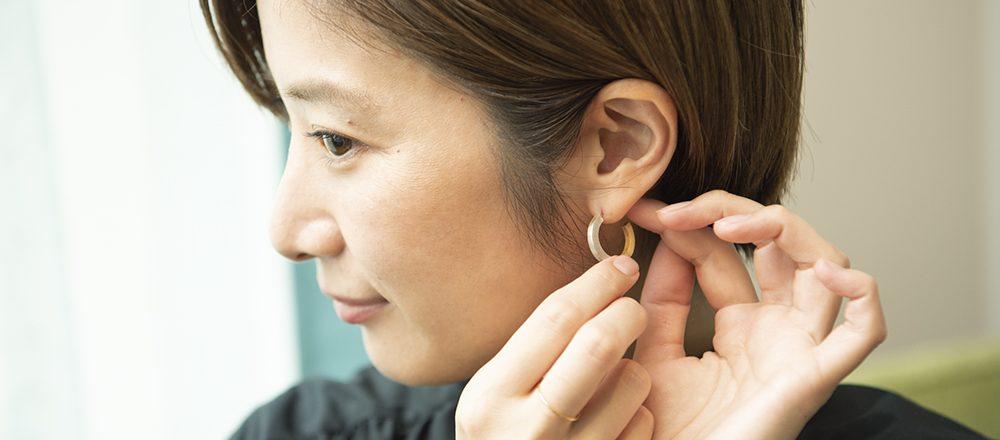 働く女子の愛用品。どんなファッションにも馴染むアクセサリー/セラピスト・江森瞳さん