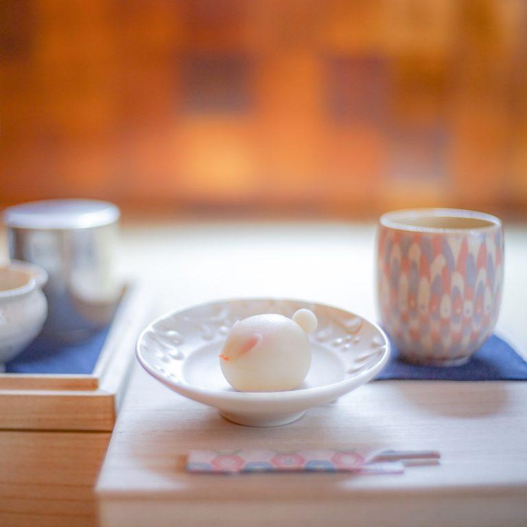 #旬月神楽.明神さんの和菓子 #瀬戸内茶房おちや