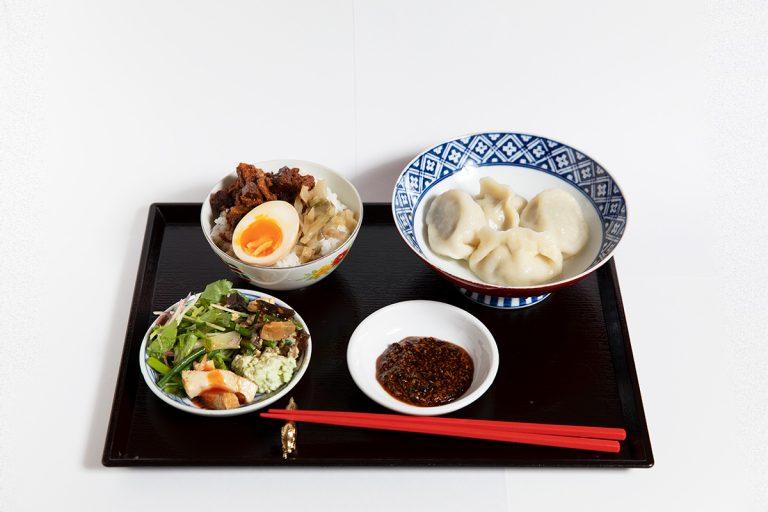 名物水餃子とお茶碗魯肉飯 1,000円(税込)