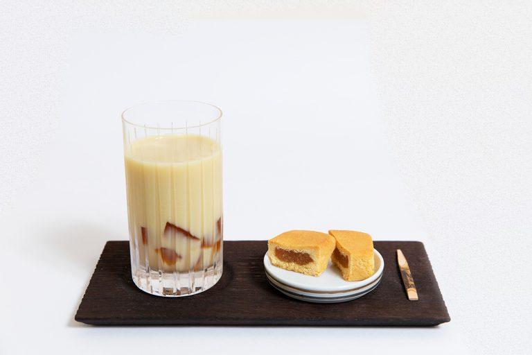 パイナップルケーキセット(ミルクティー) 700円(税込)