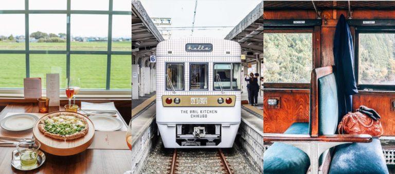レトロかわいい列車で女子旅。絶景を楽しみながら旅するならここ!【静岡・福岡】