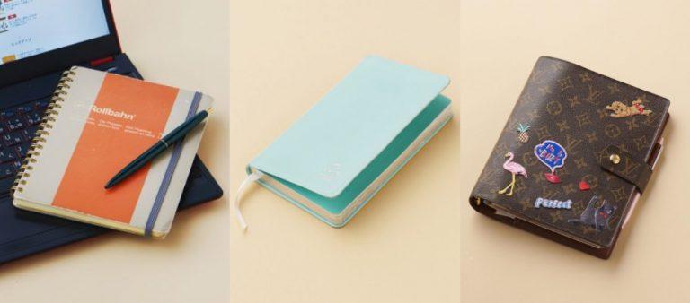 働く女子が愛用する手帳&ノートといえば?ステッカーをカスタマイズできる手帳も。