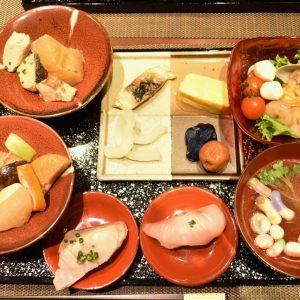 金沢の郷土料理などを集めてオリジナルの「金沢朝定食」を作ってみました。