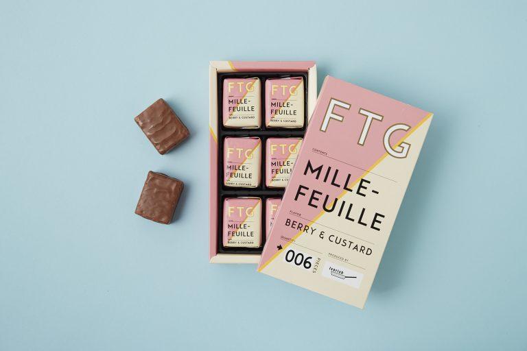 〈FROZEN to GO〉の「ミルフィユ ベリー&カスタード風味」
