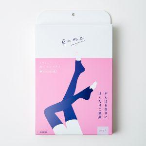 eume めぐりソックス〈おうち・おやすみ用〉3,980円(ビーブル バイ コスメキッチン 03-5774-5565)