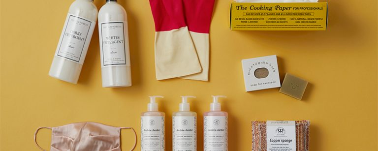 おしゃれにアップグレードしたい日用消耗品7選!乾燥&紫外線ケアのシルクマスクも。