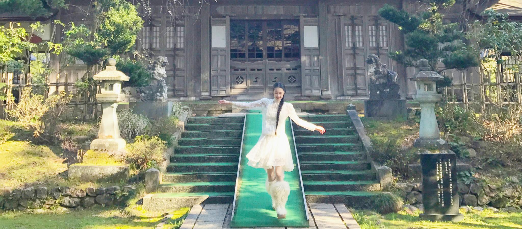石川県・金沢市にある〈大乗寺〉で初詣。幻想的な雰囲気と自然を感じて!