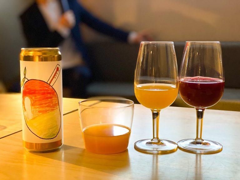 グラス左から「Show Me The Money」、「Mangohallonfeber」、「Triple Berry Pie」どれもフルーツの味が濃くてびっくり!