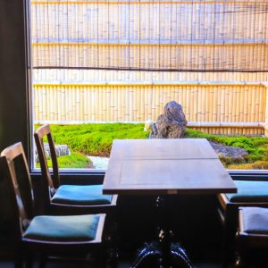 〈eX cafe 京都嵐山本店〉