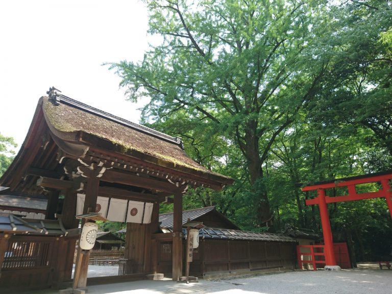河合神社 京都