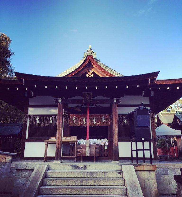 わら天神宮(敷地神社) 京都