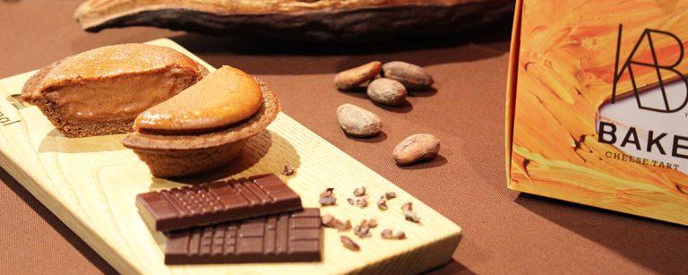 〈BAKE〉×〈Minimal〉が初コラボ!新作「焼きたてチョコレートチーズタルト」発売。