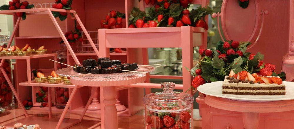 〈京王プラザホテル〉の2020年初スイーツブッフェは「いちご×チョコレート」がテーマ!