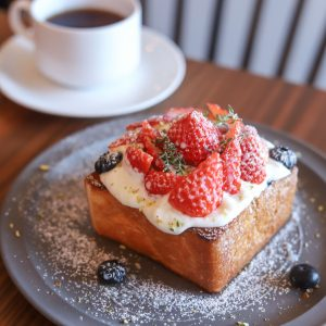 「フルーツトースト」1,200円