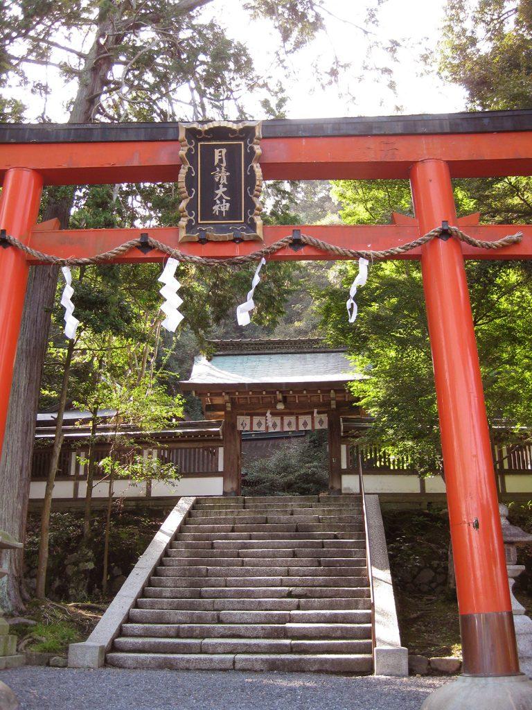 月読神社 嵐山