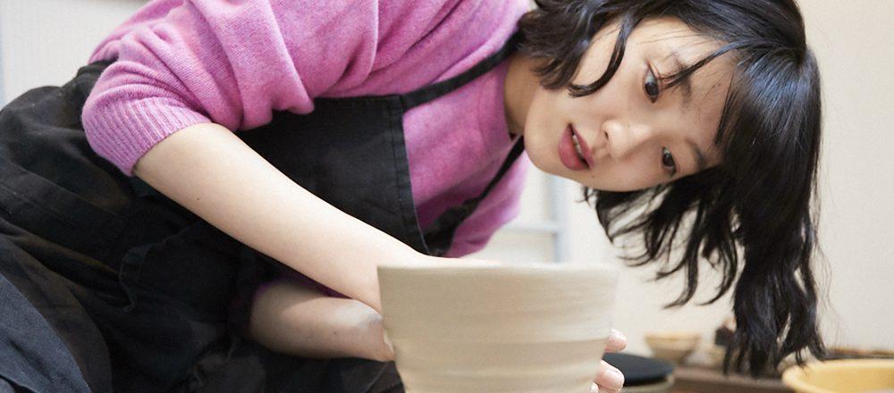小谷実由の『趣味がなかなか見つからなくて。』 /電動ろくろで味のある器をつくりたい。