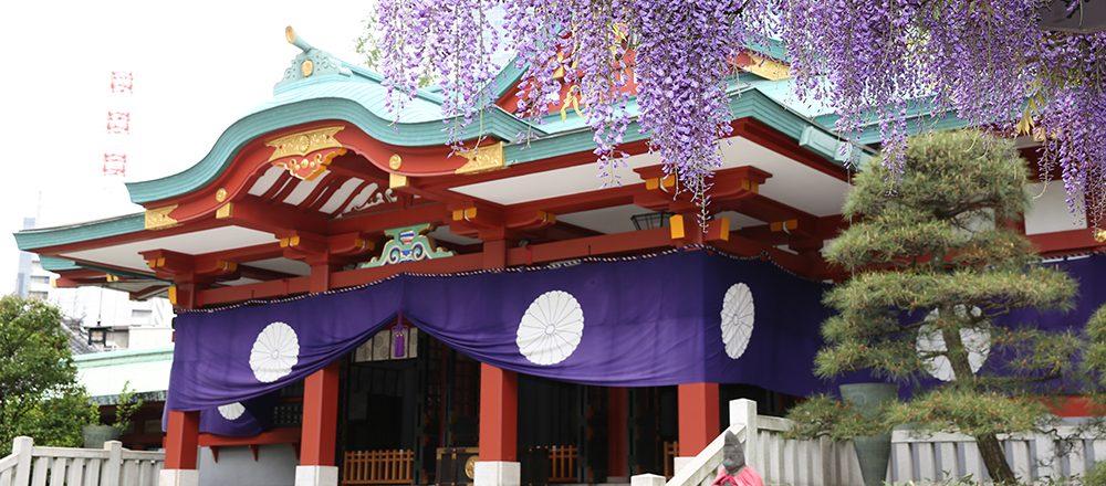 東京23区にあるパワースポット。<仕事運・恋愛運・美容運>を高めてくれる神社といえば?