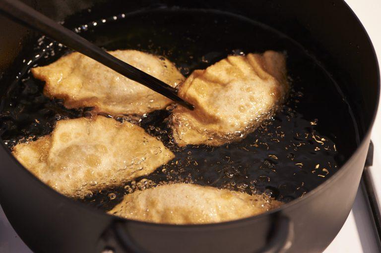 なめたけパクチー餃子 レシピ