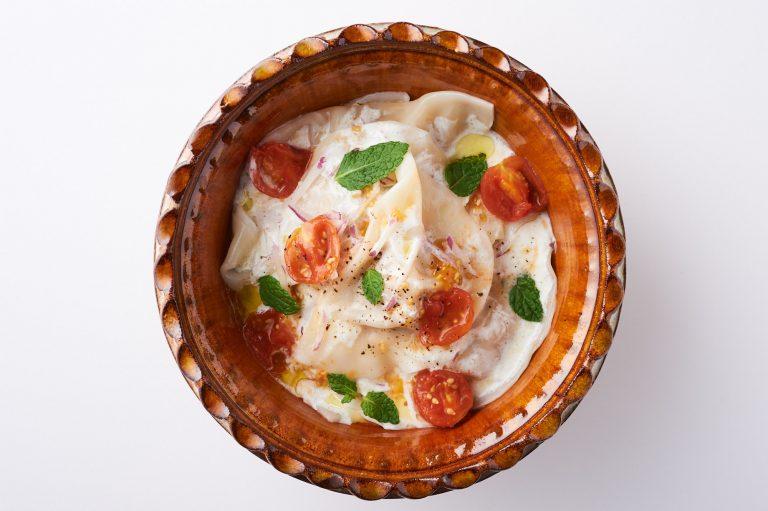 トマト水餃子のブルガリア風 レシピ