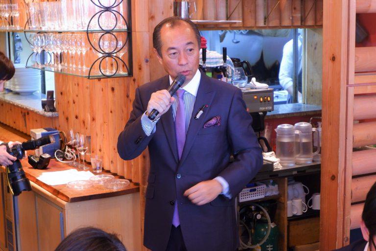 世界中のワインに精通する田崎さんが語る、山梨ワインの魅力とは。