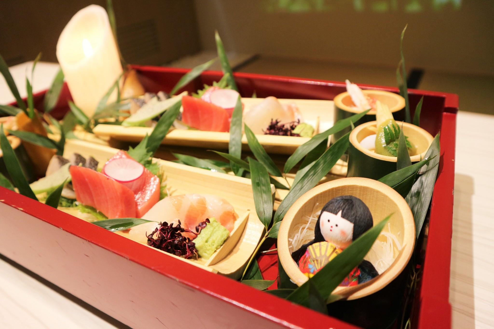 """""""日本昔話""""を再現した2種類のコースが築地〈日本料理 魚月(なづき)〉に登場!"""