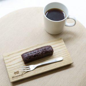ガトーショコラセットメニューは1,210円(税込)