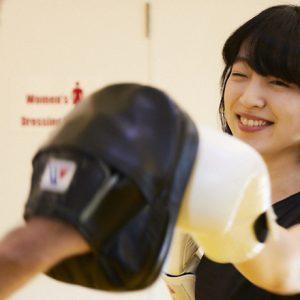 小谷実由の『趣味がなかなか見つからなくて。』 /キックボクシング体験で体も心もスッキリしよう。