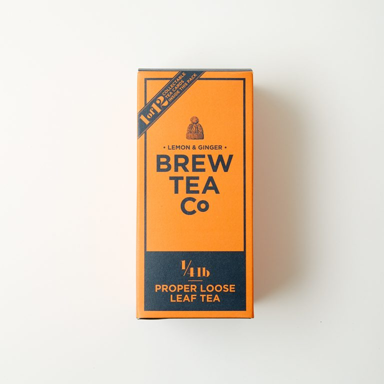 〈Brew Tea〉の「レモン&ジンジャー」