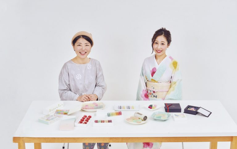 和菓子家・大森慶子さんと和スイーツ研究家の安原伶香さん