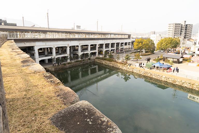広島県三原市 三原城