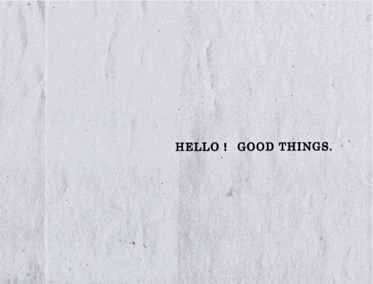 HELLO!GOOD THINGS.