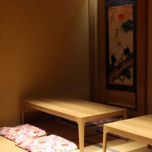 座敷もありな和空間でほっこりと。