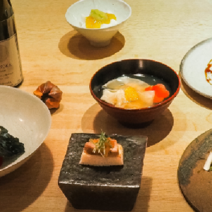 〈銀座 和郷〉で、日本料理のとっておきを味わおう。