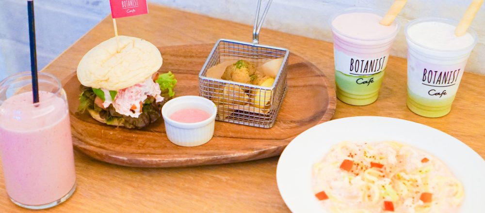 〈BOTANIST cafe〉にサクラの季節を彩る限定フード&ドリンクが登場!