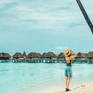 リゾート旅は便利な直行便で「タヒチ」へ。モーレア島を満喫するアクティブ女子旅!