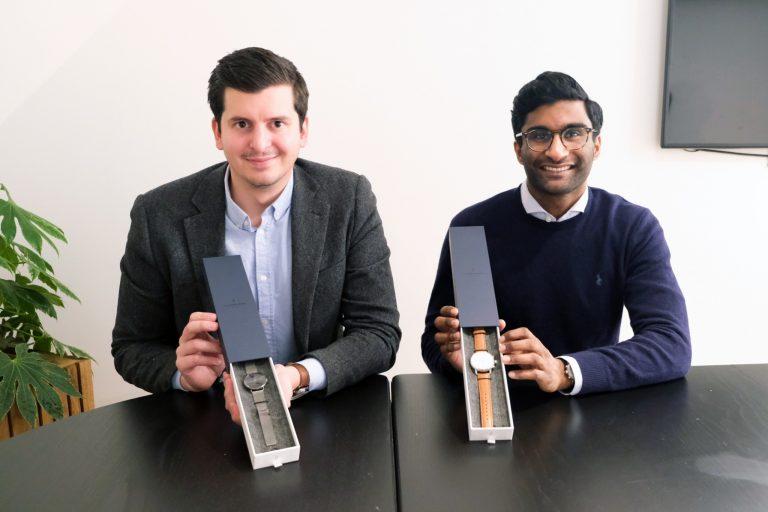 Nordgreen共同創業者でCEOのバジリ・ブラントさん(左)とパスカー・シバムさん(右)