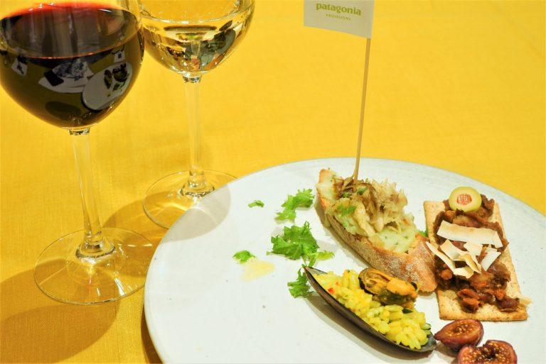 ドメーヌ・カズのワインとパタゴニアのオーガニック食品とのマリアージュ