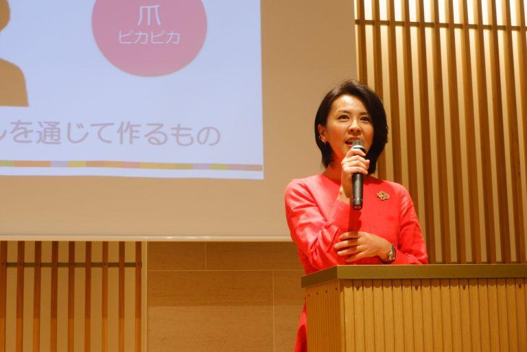 日本ホリスティックビューティー協会 代表理事 岸紅子さん。