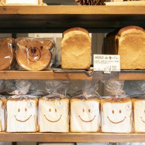 食パン袋もかわいい。
