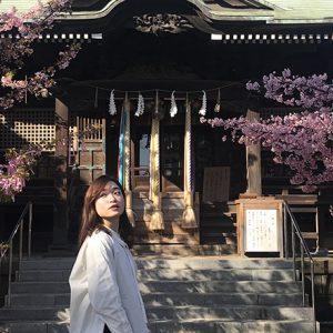 「新生活に向け、桜神宮で背中を押してもらおう!」/MARIKOの、神社 de デトックス!