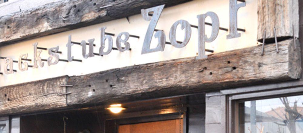 Backstube Zopf