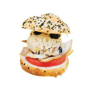 「サンドウイッチ ハーフ」550円