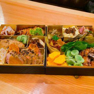 「酒菜盛り込み弁当」10,000円。