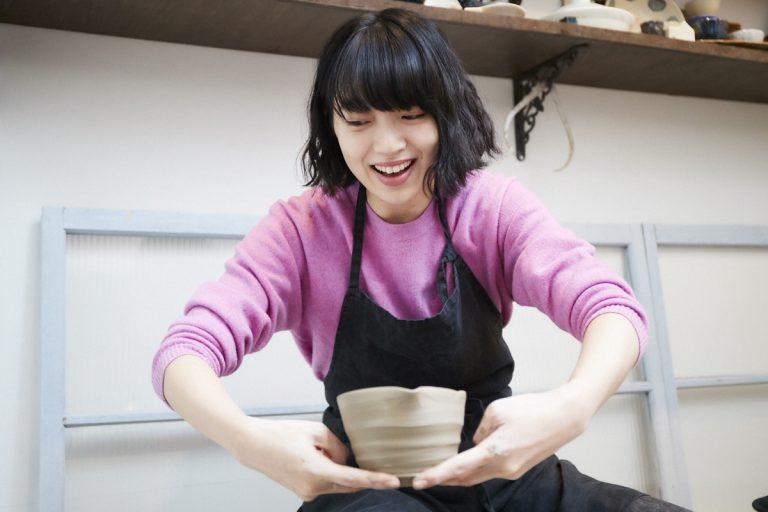 何度も何度もやり直しながら完成させた「陶芸」教室。