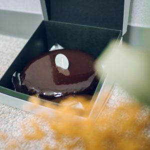 〈PÂTISSERIE ASAKO IWAYANAGI〉の濃厚テリーヌショコラでおうち時間に彩りを。