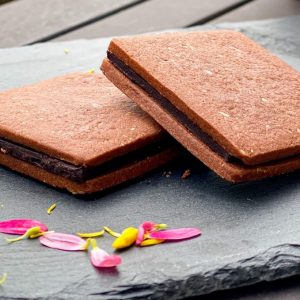 生はちみつ専門店が本気で作った!ヘルシーなチョコクッキーサンド「ハニーショコラサンド リープ」をお取り寄せ。