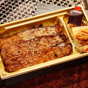 「黒毛和牛カルビ弁当」1,680円(税込)。